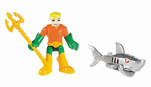 Fisher-Price Imaginext DC Super Friends Aquaman and Robo Shark - 1