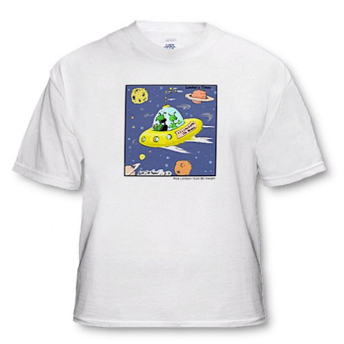 UFO Baby On Board - Youth T-Shirt XS(2-4)