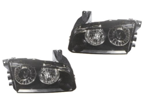 2008-2010 DODGE CHARGER XENON REPLACEMENT HEADLIGHTS