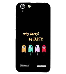 PrintDhaba Quote D-3740 Back Case Cover for LENOVO LEMON 3 (Multi-Coloured)