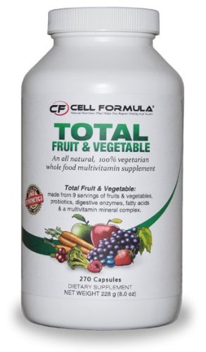 Total Fruit And Vegetable Whole Food Vitamins