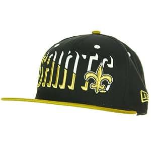New Era New Orleans Saints Splitter 9FIFTY Snapback NFL Cap