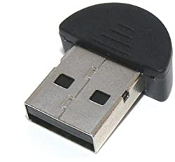 Indiashopers Mini USB 2.0 USB Bluetooth Dongle