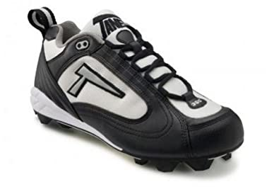 Buy Tanel 360° RPM Lite Low Cut Ladies Fastpitch Softball Cleat, Black White & Silver. Medium... by Tanel 360