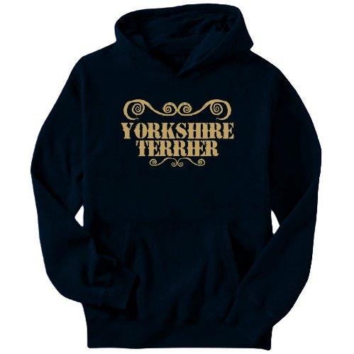 Yorkshire Terrier - Ornaments / Urban Style Mens Hoodie