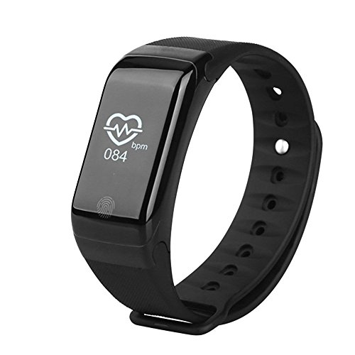 OPTA SW-019 Smart Bluetooth Bracelet Heart Rate Monitor Body Temperature Altitude Wristband Fitness Tracker Smartband compatible with Samsung IPhone HTC Intex Vivo Mi One Plus and many others! Launch Offer!!