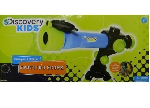 Discovery Kids Compact 30Mm Spotting Scope For Terrestrial Viewing (30X Magnification).