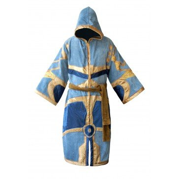 World Of Warcraft Blue and Gold Priest Cotton Bademantel