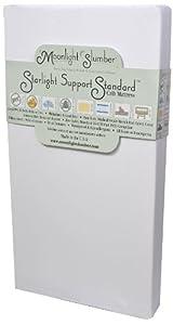 Moonlight Slumber Starlight Support Standard All Foam Crib Mattress (Discontinued by Manufacturer)