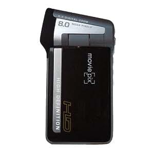 MoviePix MP5A4 720P HD Digital Video Camcorder (Black)