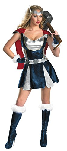 Disguise Womens Marvel Comics Sassy Thor Girl Halloween Themed Fancy Costume