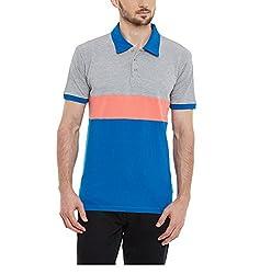 Yepme Men's Multi-Coloured Cotton Polos - YPMPOLO0425_XL