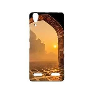BLUEDIO Designer 3D Printed Back case cover for Lenovo A6000 / A6000 Plus - G6429