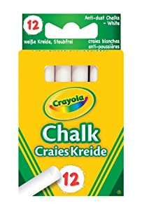 Crayola - Anti Dust White Chalk