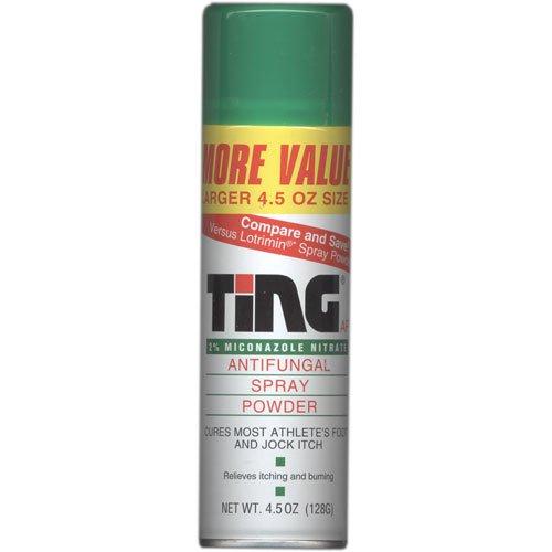 Ting Foot & Jock Itch, Antifungal Spray Powder 4.5 oz (128 g)