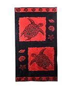 Natural History Gifts Toalla Playa Lux Mod 74 (Rojo / Negro)
