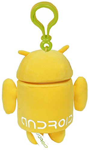 Android Plush Backpack Clip Yellow Guy - 1