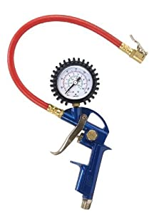 Campbell Hausfeld Tire Inflator with Gauge, Pack of 3 by Campbell Hausfeld