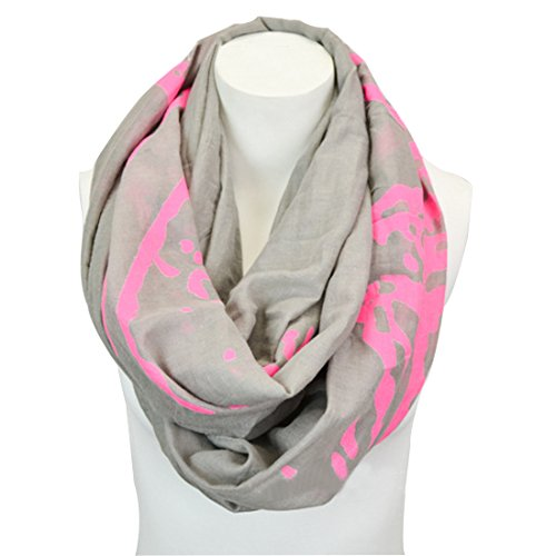 Novawo Women'S Fashion Cotton Infinity Scarf