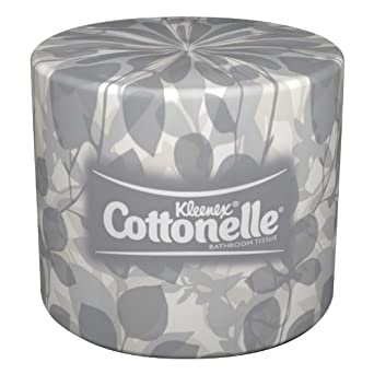 Kimberly-Clark Kleenex Cottonelle 17713 Standard Roll Bathroom Tissue (60 Rolls, 451 Sheets Per Roll)