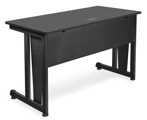 "Buy Low Price Comfortable Modular Computer/Privacy Table – 24×48″ Laminate Graphite – OFM 55103-GRAPH"" (B005LWQCUO)"