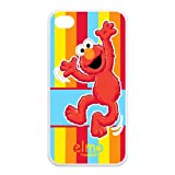 Funny toy doll Tickle me Elmo cute smile big eyes Iphone 4 4S TPU case