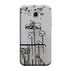 Ebby Premium Printed Back Case Cover With Full protection For Samsung Core Prime G360 (Designer Case)