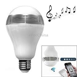 MIPOW PlayBulb Bluetooth Smart LED Speaker Light