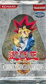 YuGiOh Dark Beginning Volume 1 Booster Pack Box LOT (24 packs) [Toy]