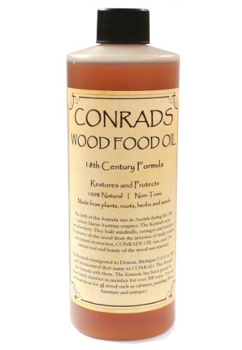 Conrads Wood Food Oil (16 oz) (Outdoor Wood Furniture Oil compare prices)