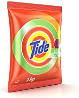 Tide Plus Jasmine and Rose Detergent Powder - 1 kg Pack