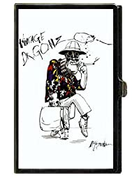Fear Loathing Hunter Thompson Business Card Case Holder USA Made