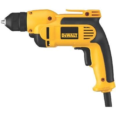 DEWALT DWD112 8.0 Amp 3/8-Inch VSR Pistol-Grip Drill with Keyless All-Metal Chuck by DEWALT