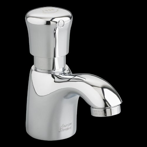 American Standard 1340119.002 Pillar Tap Metering Faucet With Extended Spout 0.5 Gpm front-975368