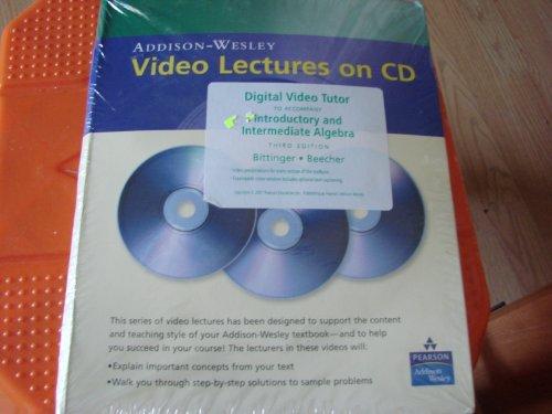 Introductory and Intermediate Algebra Digital Video Tutor