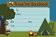 Camping Themed Party Invitations – Fi…