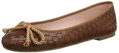 Pretty Ballerinas 44876 - Ballerine donna, colore Marrone (Brown (Fulton Peru)), taglia 41.5 EU