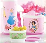 Tupperware Disney Princess Snack Set