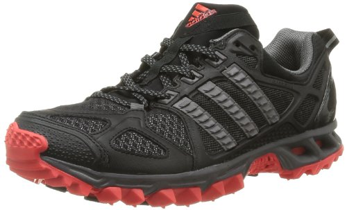 Adidas Performance Mens Kanadia TR 6 M-4 Running Shoes D66834 Black I/Sharp Grey/Hi Res Red 9 UK, 43 EU
