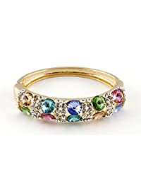 SWAROVSKI ELEMENTS Austria Crystal Elegant Colourful Bangles & Bracelets For Women By Ananth Jewels
