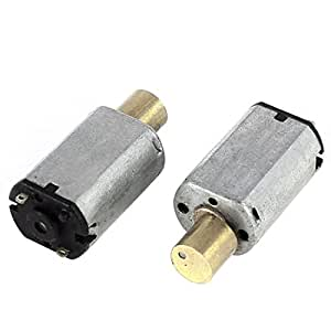 2 Pcs Mini Vibration Vibrating Electric Motor