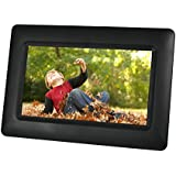 Sylvania SDPF651 6.5-Inch Digital Photo Frame with Clock and Calendar Functions (Black)
