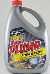 Liquid-PLUMR Drain Cleaner, Pro Strength 80 fl oz 2 Pack