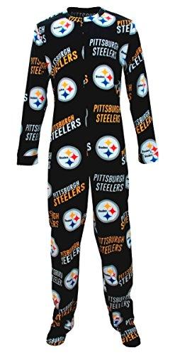 "Pittsburgh Steelers NFL ""Winner"" Men's Micro Fleece Union Suit at Steeler Mania"