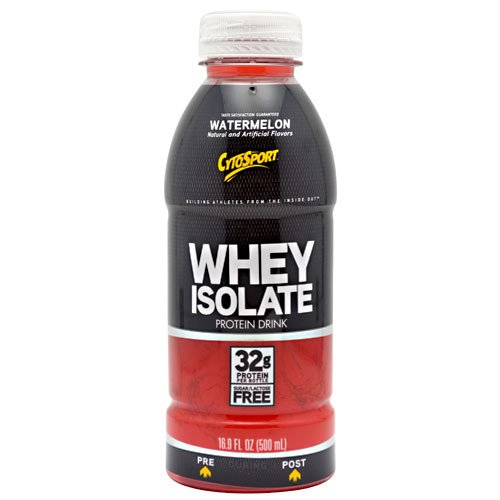 Cytosport - Whey Isolate Protein Rtd - Watermelon, 12 Drinks