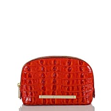 Tina Cosmetic Bag<br>Vermillion La Scala