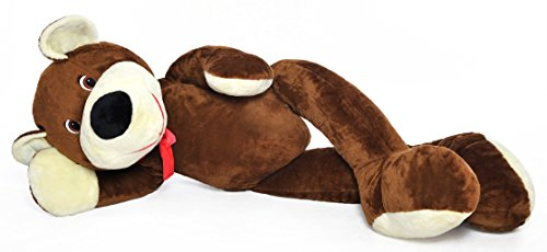 Riesen Teddybär Plüschtier Kuschelbär braun