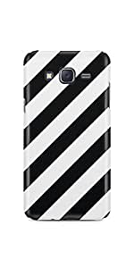 Casenation Zebra Cross Samsung Galaxy J5 Glossy Case