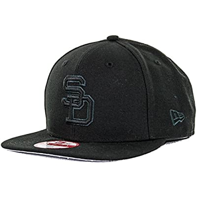New Era 950 San Diego Padres Cooperstown Snapback Hat (Black/Graphite) MLB Cap