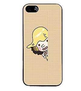 PRINTVISA Cartoon Case Cover for Apple iPhone 4S